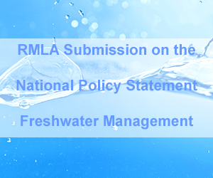 RMLA Submission NPS Freshwater Management